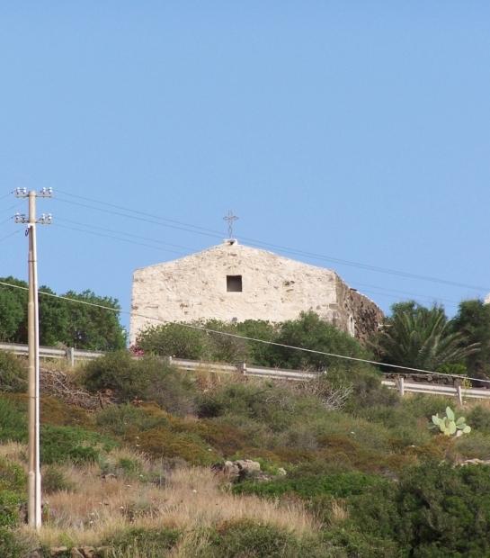 Chiesa campestre a Pantelleria