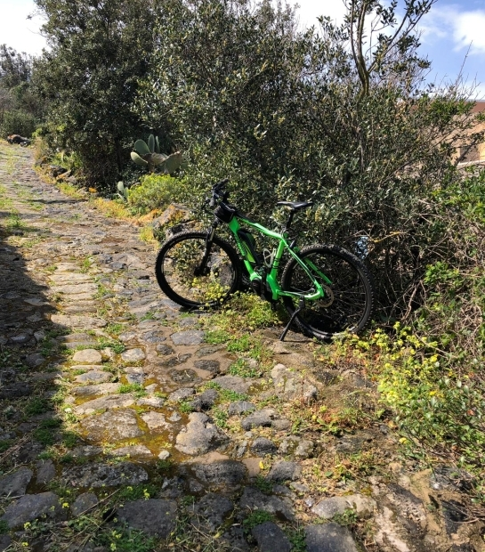 Mountain bike excursions in Pantelleria