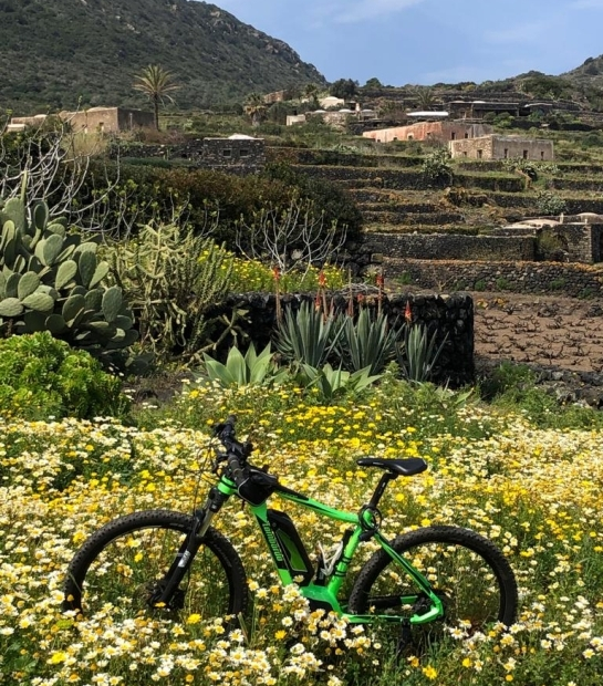 Bike rides on Pantelleria