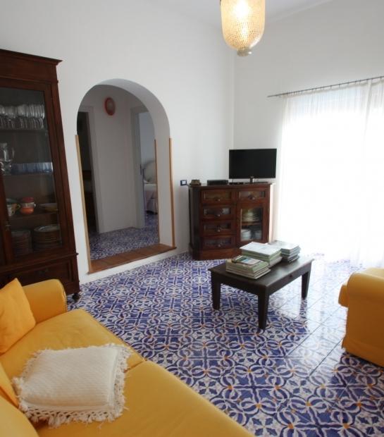 Living room Villa Scauri