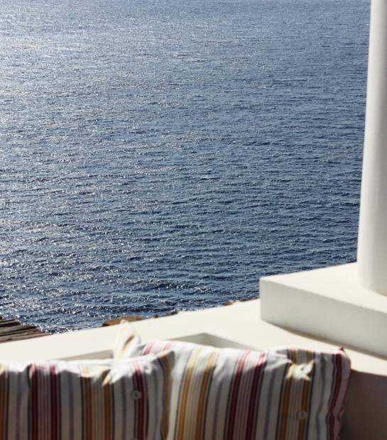 Sea view from Villa Scauri