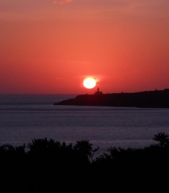Sunrise in Pantelleria