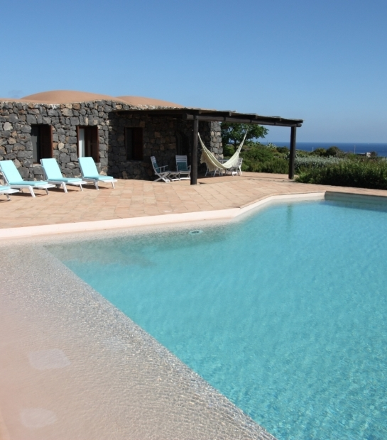 Overview Dammuso Exclusive with swimming pool