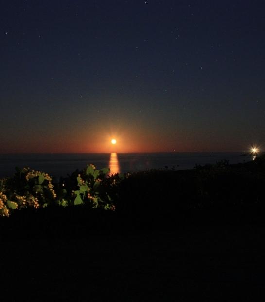 Sunset in Pantelleria